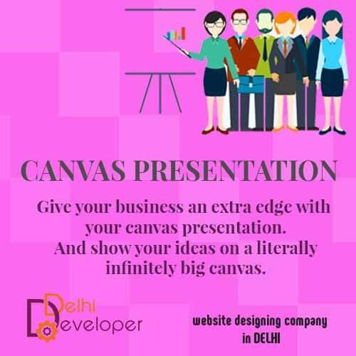 Delhi Developer Banner : Canvas Presentations